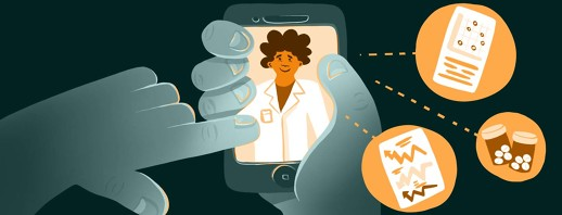 Preparing for a Virtual Visit with Your Doctor image