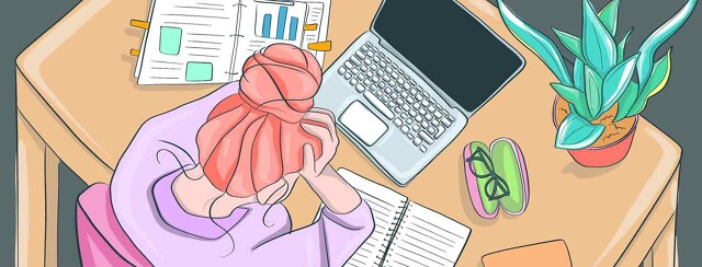 Working Virtually Is A Pain! image